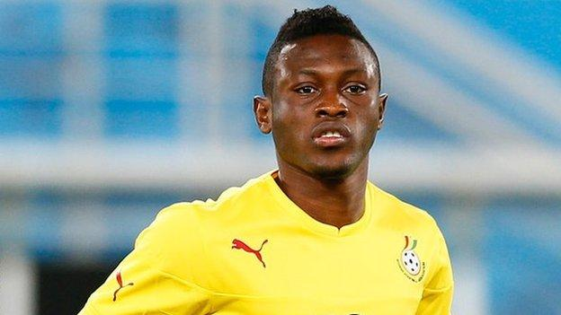 Ghanaian duo Majeed Waris and David Accam on the move