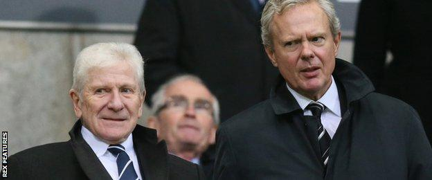 Eddie Davies and Trevor Birch
