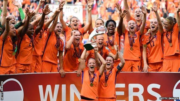 The Netherlands win Euro 2017