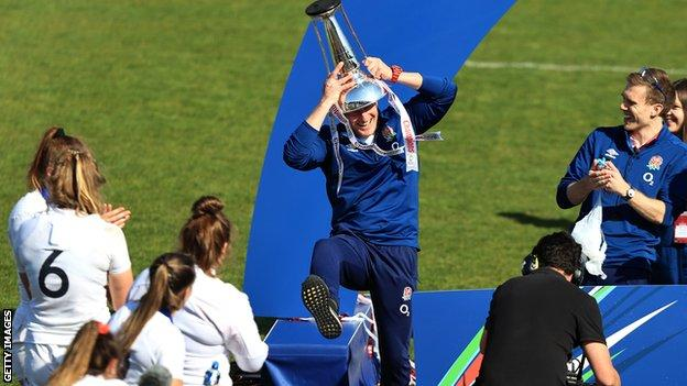 Women's Six Nations: England show winning character but need plan B for World Cup thumbnail