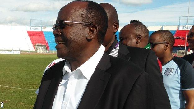 Football Kenya Federation president Sam Nyamweya