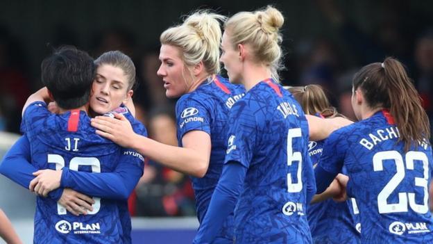 Women's Super League: Chelsea 1-0 Manchester United thumbnail