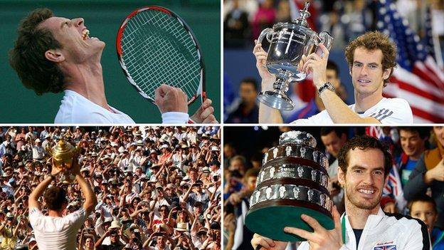 Andy Murray's greatest moments