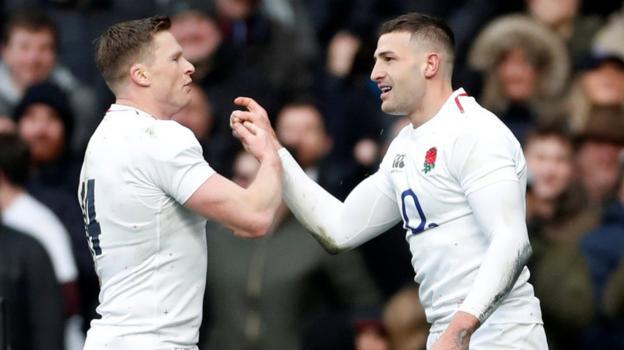 England 44-8 France: Eddie Jones' men maintain perfect start to Six Nations thumbnail