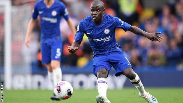 Chelsea midfielder N'Golo Kante