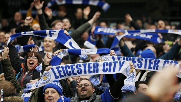 Leicester City supporters