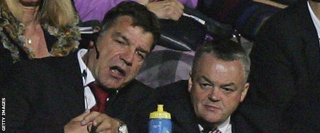 Sam Allardyce and Phil Gartside