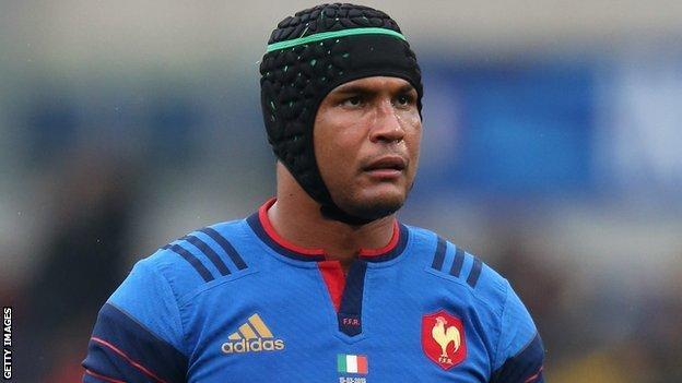 France captain Thierry Dusautoir
