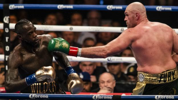 Tyson Fury v Deontay Wilder II set for 22 February in Las Vegas thumbnail