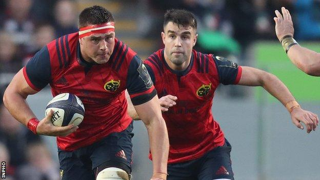 CJ Stander and Conor Murray are both in the frame to tour New Zealand with the British and Irish Lions