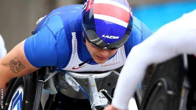 Wheelchair racer David Weir