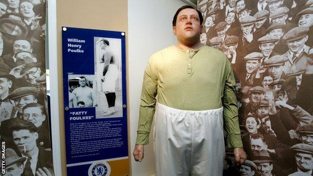 Fatty' Foulke: The legend of Sheffield United & Chelsea keeper - BBC Sport