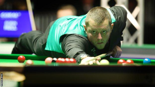 Mark Allen has struggled to produce his best form at the NI Open