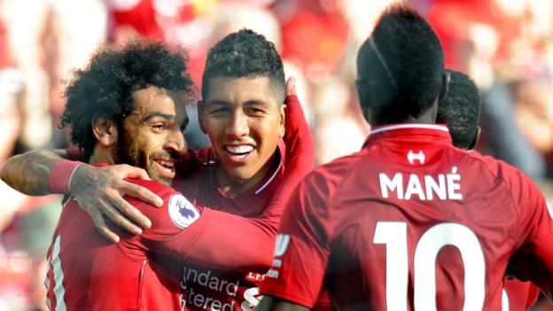 Liverpool 1-0 Brighton: Mohamed Salah goal sends Liverpool