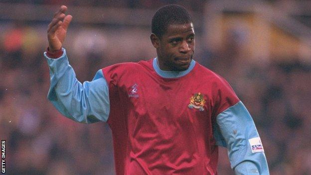 Len Johnrose in action for Burnley