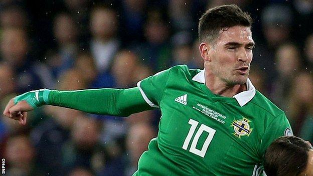 Kyle Lafferty has scored 20 goals in 68 appearances for Northern Ireland