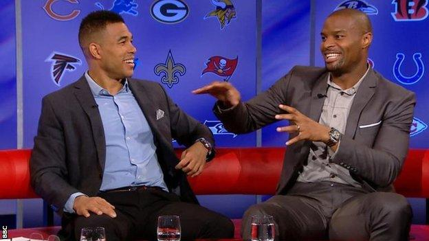 Jason and Osi from the NFL Show