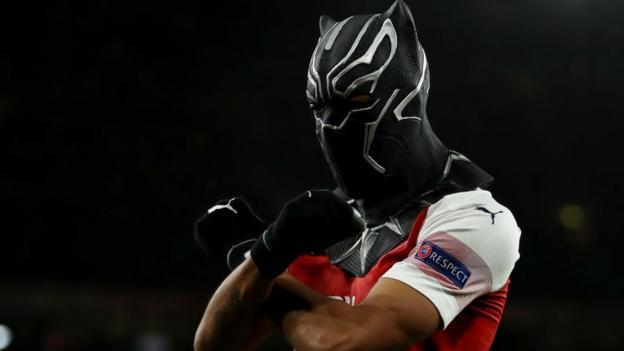 Arsenal 3-0 Rennes (agg: 4-3): Pierre-Emerick Aubameyang inspires Europa League comeback thumbnail