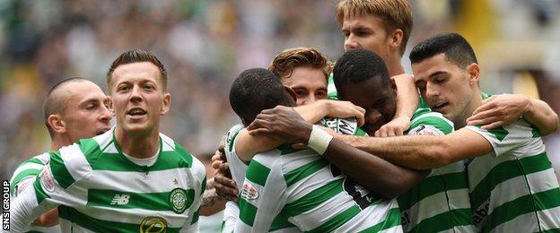 Celtic are unbeaten in 12 derbies against Rangers under Brendan Rodgers