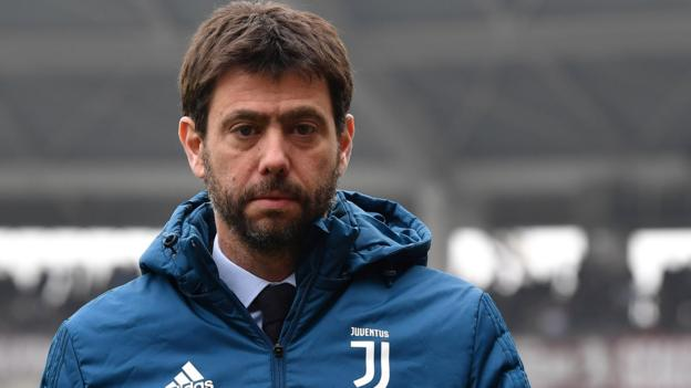 Juventus chairman Andrea Agnelli says Europe's big clubs guilty of 'protectionism' thumbnail