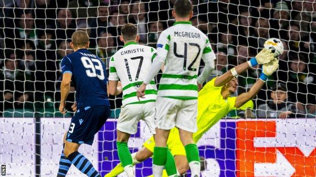 Ryan Christie's leveller against Lazio doubled his group-stage goals tally