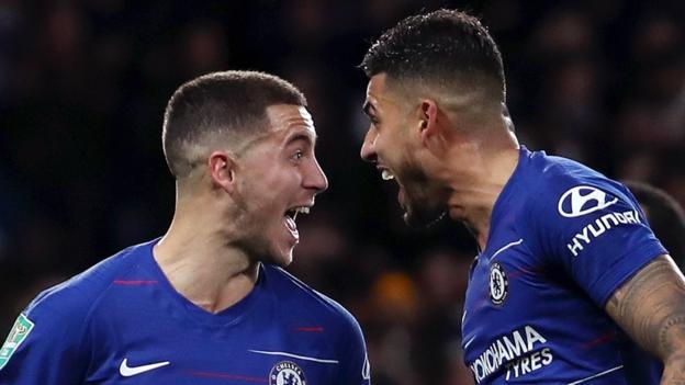 Chelsea 1-0 Bournemouth: Eden Hazard goal sends Blues into semi-finals thumbnail