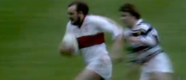 Steve Hubbard, with beard