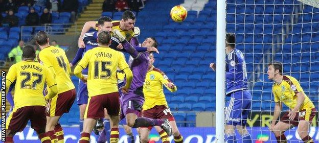Sean Morrison scores Cardiff's second
