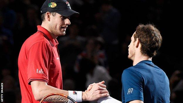 Isner and Murray
