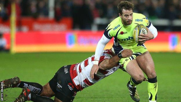 Danny Cipriani has scored 75 points in the Premiership this season, the third highest in the country