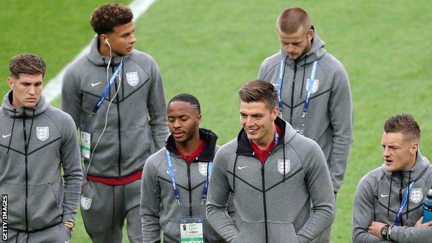 Nick Pope, Raheem Sterling, England World Cup squad, John Stones, Jamie Vardy, Dele Alli, Eric Dier