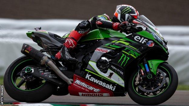 Jonathan Rea has won the World Superbike title for the last four seasons