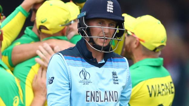 England lose to Australia in Cricket World Cup at Lord's thumbnail