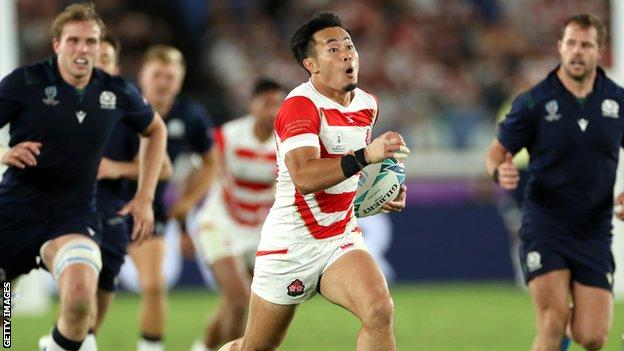 Scotland were undone by the precision and pace of Japan at the World Cup