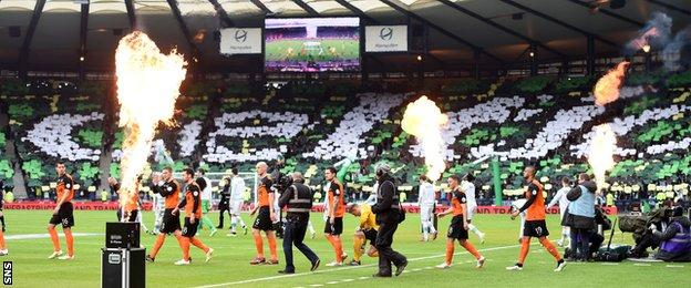 Celtic v Dundee United 2015 League Cup final