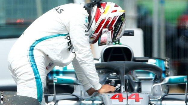 Hamilton out of quali