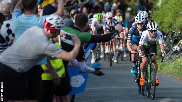 Mark Cavendish in the 2018 Tour de Yorkshire
