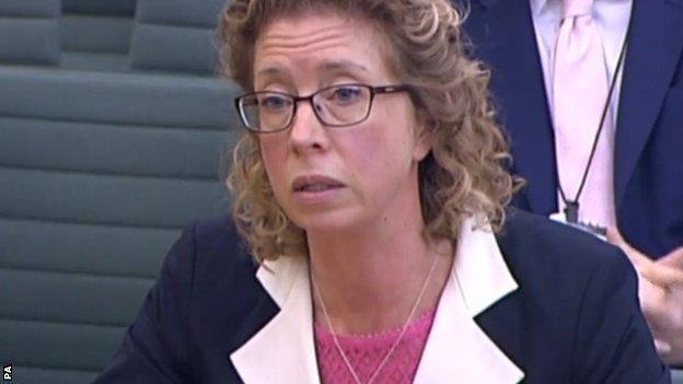 UK Anti-Doping chief executive Nicole Sapstead