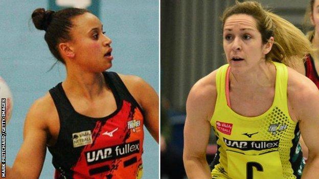 Laura Malcolm (left) and Caroline O'Hanlon