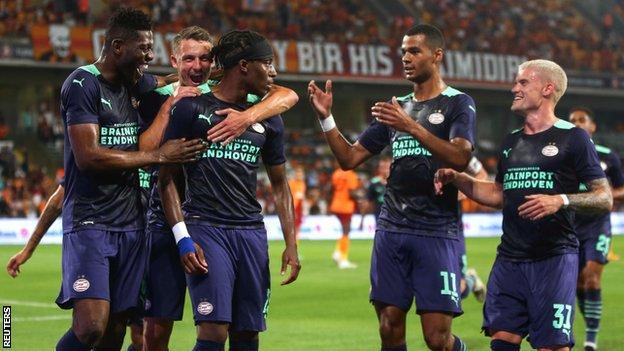 Galatasaray v PSV Eindhoven