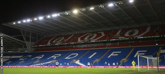 A crowd of just 4,782 saw Cardiff knocked out of the FA Cup