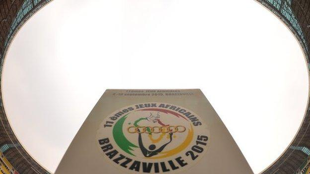 The African Games logo