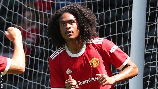 Chong, who is set to join Birmingham on loan, scored United's opener against Derby