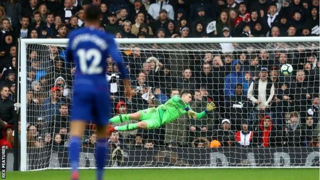 Chelsea keeper Kepa Arrizabalaga
