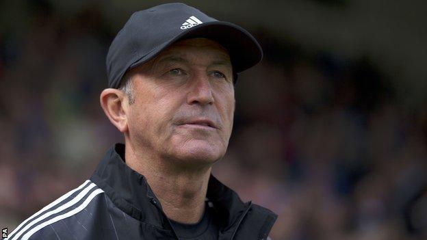 West Bromwich Albion head coach Tony Pulis