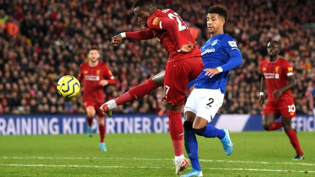 Origi scores against Everton