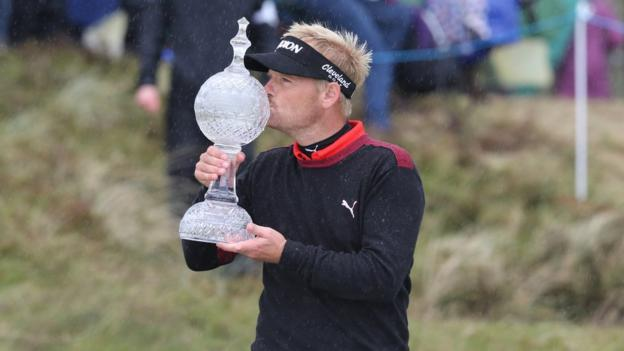 Dane Soren Kjeldsen won the Irish Open at Royal County Down in May as the tournament returned to Northern Ireland in front of packed galleries