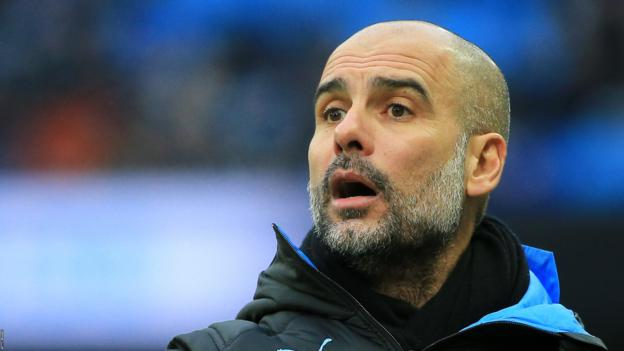 Manchester City: Pep Guardiola did not intend to offend fans over FA Cup attendance - bbc