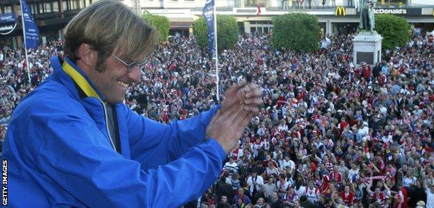 Jurgen Klopp Mainz 05