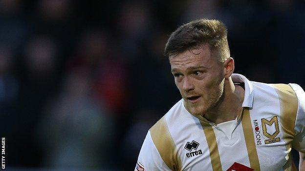 Rhys Healey scored 12 goals in 21 appearances for MK Dons in 2019-20